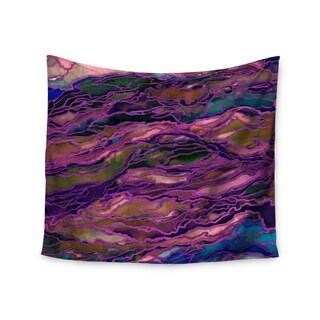Kess InHouse Ebi Emporium 'Marble Idea! - Rich Jewel Tone' 51x60-inch Wall Tapestry