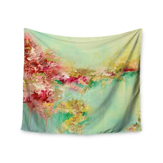 Kess InHouse Ebi Emporium 'When Land Met Sky 1' Red Green51x60-inch Wall Tapestry