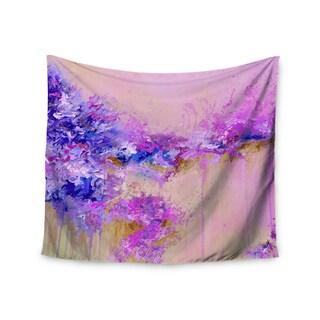 Kess InHouse Ebi Emporium 'When Land Met Sky 2' Purple Pink51x60-inch Wall Tapestry