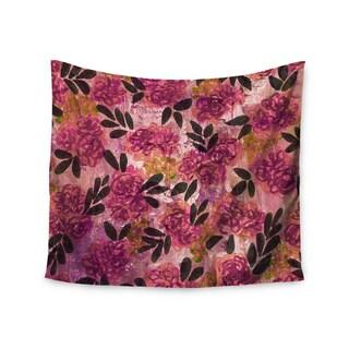 Kess InHouse Ebi Emporium 'Grunge Flowers II' 51x60-inch Wall Tapestry