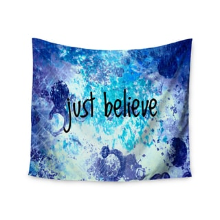 Kess InHouse Ebi Emporium 'Just Believe' 51x60-inch Wall Tapestry