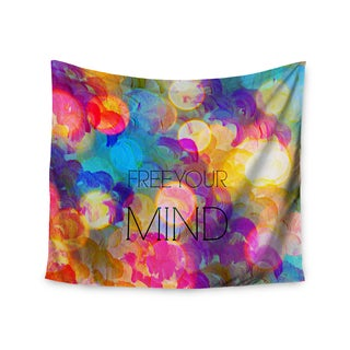 Kess InHouse Ebi Emporium 'Free Your Mind' 51x60-inch Wall Tapestry