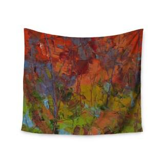 Kess InHouse Ebi Emporium 'Petal Pinwheels' 51x60-inch Wall Tapestry