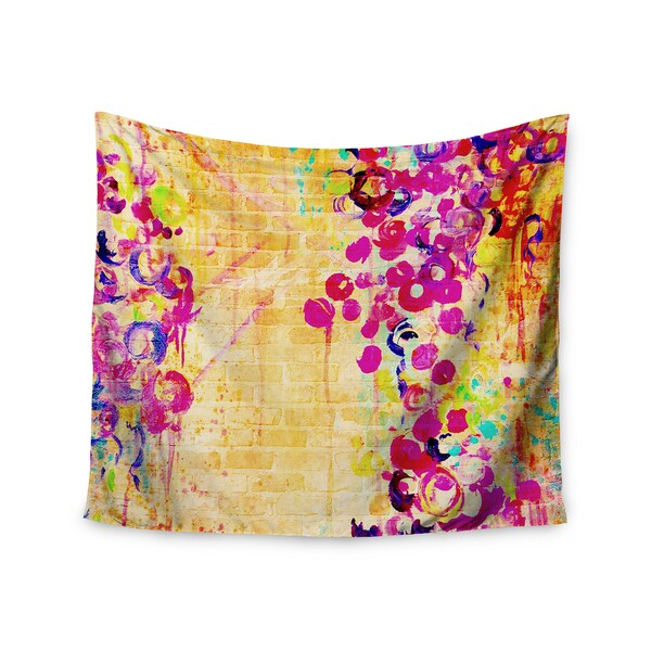 Kess InHouse Ebi Emporium 'Wall Flowers' 51x60-inch Wall Tapestry