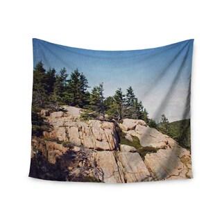 Kess InHouse Jillian Audrey 'Windswept Cliffs' 51x60-inch Wall Tapestry