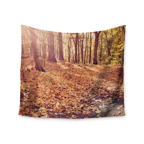 Kess InHouse Jillian Audrey 'Autumn Hike' 51x60-inch Wall Tapestry