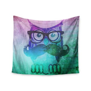 Kess InHouse iRuz33 'Showly Teal' 51x60-inch Wall Tapestry