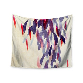 Kess InHouse Iris Lehnhardt 'Abstract Leaves IV' 51x60-inch Wall Tapestry