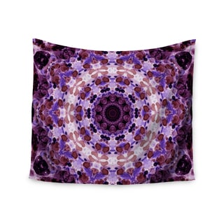 Kess InHouse Iris Lehnhardt 'Mandala III' 51x60-inch Wall Tapestry