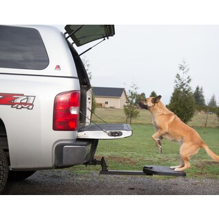 Heininger Holdings Portable PET Twistep Dog and Pet Step for Trucks