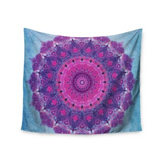 Kess InHouse Iris Lehnhardt 'Grunge Mandala' 51x60-inch Wall Tapestry