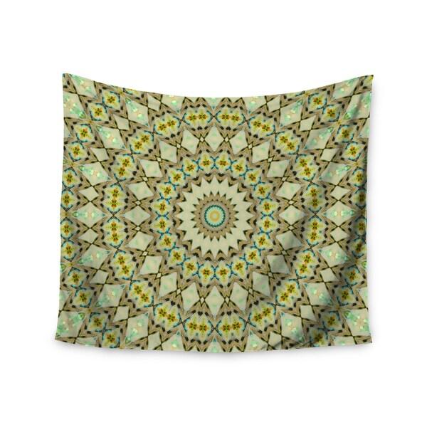 Kess InHouse Iris Lehnhardt 'Kaleidoscope Green' 51x60-inch Wall Tapestry