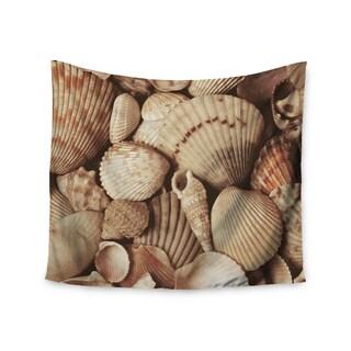 Kess InHouse Heidi Jennings 'Shells' 51x60-inch Wall Tapestry