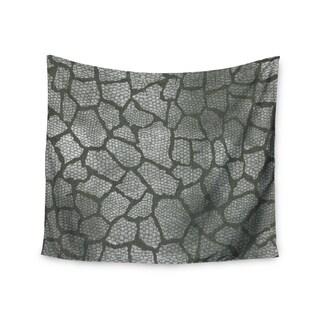 Kess InHouse Heidi Jennings 'Gray Snake Skin' 51x60-inch Wall Tapestry