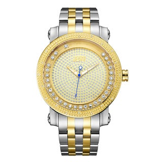 JBW Men's Hendrix Two-tone Stainless Steel and Gold Diamond Watch