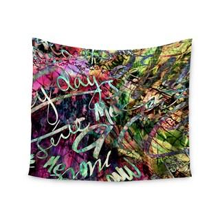Kess InHouse Gabriela Fuente 'Crazy Day' 51x60-inch Wall Tapestry