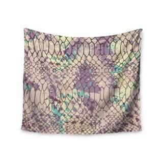 KESS InHouse Chickaprint 'Snakeskin' Pink Lavender 51x60-inch Tapestry