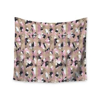 KESS InHouse Chickaprint 'Skap' Pink Gold 51x60-inch Tapestry