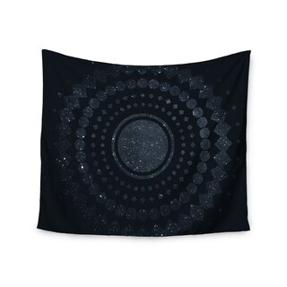 KESS InHouse Matt Eklund 'Lunar Confetti' Geometric Blue 51x60-inch Tapestry