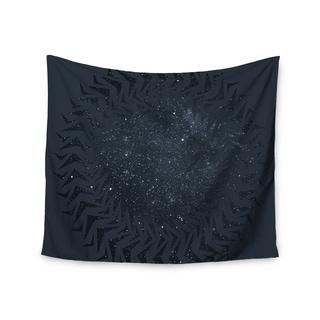 KESS InHouse Matt Eklund 'Lunar Chaos' Blue Celestial 51x60-inch Tapestry