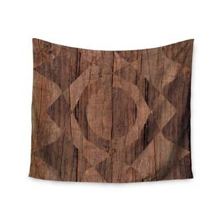 KESS InHouse Matt Eklund 'Indigenous' Beige Brown 51x60-inch Tapestry