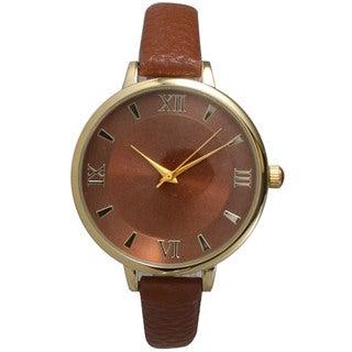Olivia Pratt Women's Minimalist Stainless Steel Petite Watch