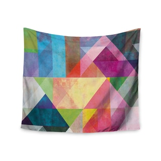 KESS InHouse Mareike Boehmer 'Color Blocking' Rainbow Abstract 51x60-inch Tapestry