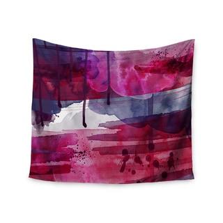 KESS InHouse Li Zamperini 'Purple' Purple Pink 51x60-inch Tapestry
