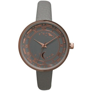 Olivia Pratt Women's Astronomical Wonders Multicolored Genuine Leather Watch
