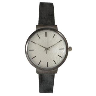 Olivia Pratt Women's Stainless Steel Strap Watch