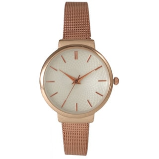 Olivia Pratt Women's Stainless Steel Strap Watch