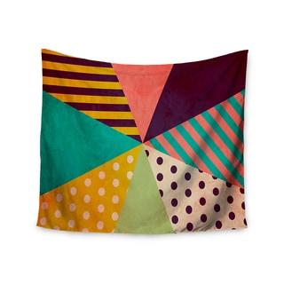 KESS InHouse Louise Machado 'Umbrella' Purple Orange 51x60-inch Tapestry