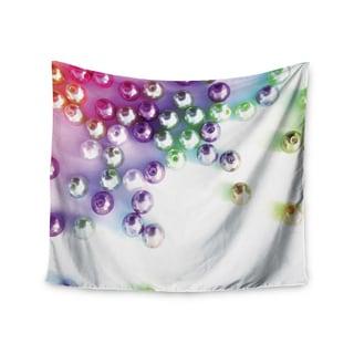 KESS InHouse Louise Machado 'Pearl' Magenta Purple 51x60-inch Tapestry