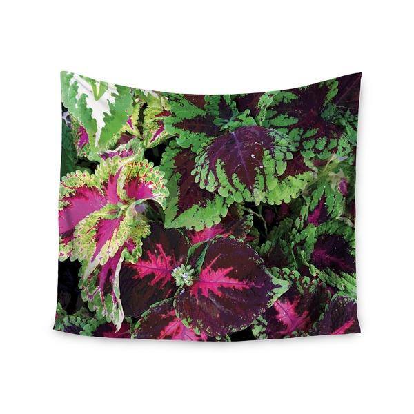 KESS InHouse Louise Machado 'Forest' Green Magenta 51x60-inch Tapestry