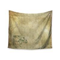 KESS InHouse KESS Original 'Deco Car' 51x60-inch Tapestry