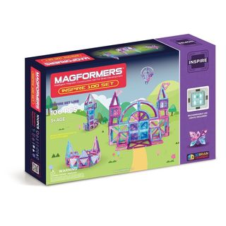 Magformers Inspire Plastic 100-piece Set