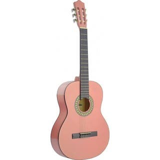 Stagg C542 PK Pink Classical Guitar|https://ak1.ostkcdn.com/images/products/12107029/P18968826.jpg?impolicy=medium