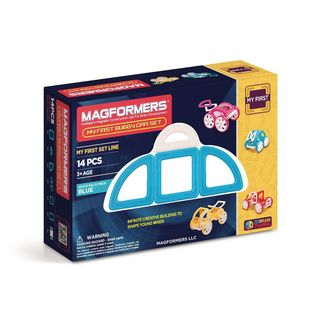 Magformers My First Buggy Blue Plastic 14-piece Set