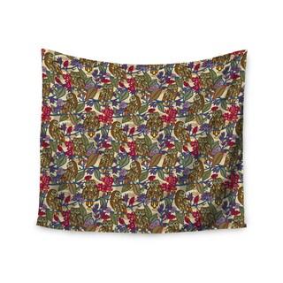 KESS InHouse Julia Grifol 'My Boobooks Owls' 51x60-inch Tapestry