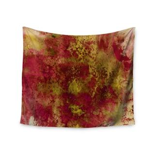 KESS InHouse Ebi Emporium 'Epoch 4' Red Green 51x60-inch Tapestry