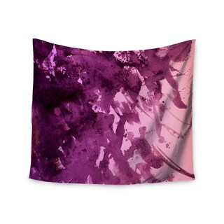 KESS InHouse Ebi Emporium 'Splash Out Purple Pink' Lavender Blush 51x60-inch Tapestry