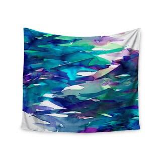 KESS InHouse Ebi Emporium 'Fervor 5' Blue Teal 51x60-inch Tapestry
