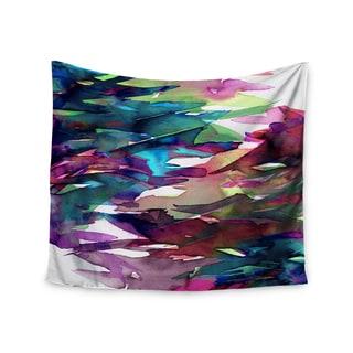 KESS InHouse Ebi Emporium 'Fervor 4' Magenta Abstract 51x60-inch Tapestry