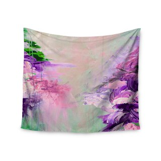 KESS InHouse Ebi Emporium 'Winter Dreamland 4' Pink Purple 51x60-inch Tapestry