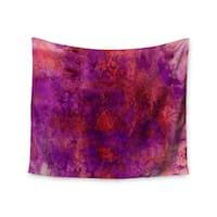 KESS InHouse Ebi Emporium 'Epoch 3' Red Purple 51x60-inch Tapestry