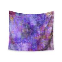 KESS InHouse Ebi Emporium 'Purple Fog' Purple Painting 51x60-inch Tapestry