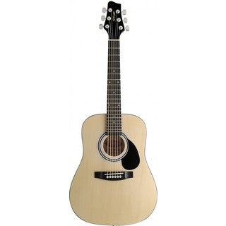 Stagg SW201 1/2 N Natural Dreadnought Acoustic 1/2 Size Guitar