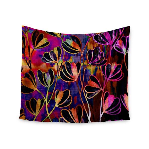 KESS InHouse Ebi Emporium 'Efflorescence - Deep Jewel' Pink Rainbow 51x60-inch Tapestry