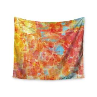 KESS InHouse Ebi Emporium 'Pastel Jungle' Orange Red 51x60-inch Tapestry