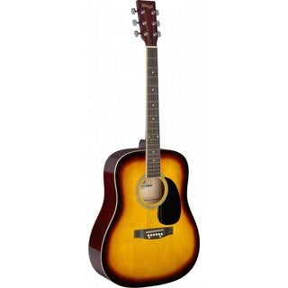 Stagg SA20D SNB Sunburst Dreadnought Acoustic Guitar